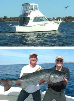 Benmar custom charters connecticut new london county for Fishing charters ct