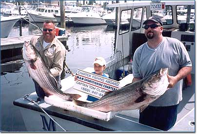 M and m sportfishing charters connecticut new london for Ct fishing charters